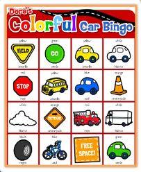Bingo car game