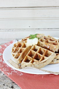 Apple-Fritter-Waffles-with-Caramel-callmepmc