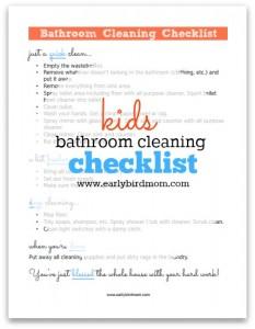 kids-bathroom-cleaning-checklist
