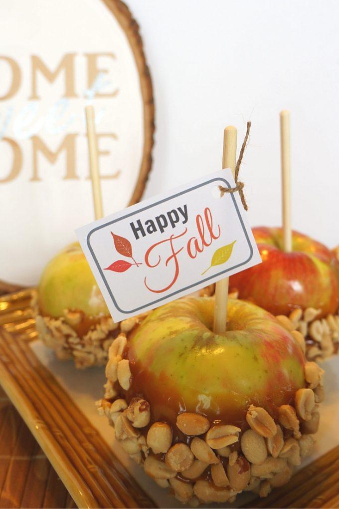 Free Happy Fall Gift Tag Printable 24 7 Moms