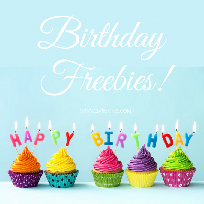 birthday freebies for moms