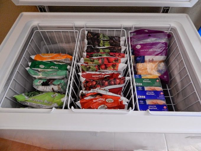 10 organize chest freezer