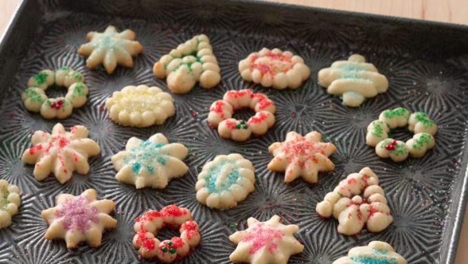holiday Christmas cookie recipes