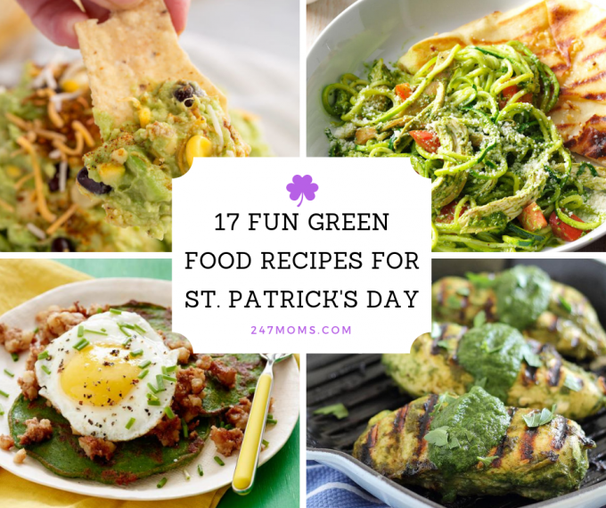 17 Fun Green Food Recipes For St Patrick S Day 24 7 Moms