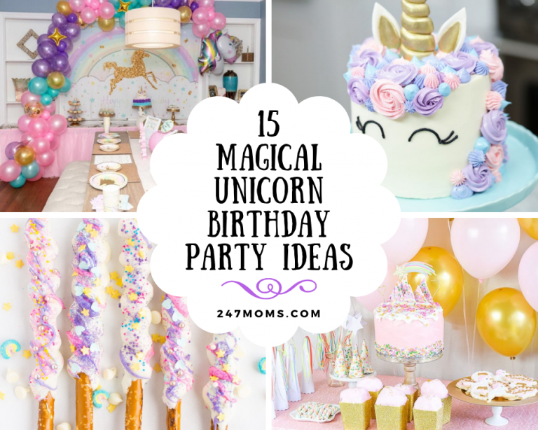 unicorn party birthday ideas