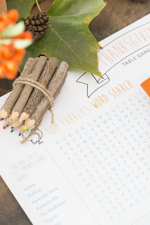 10 Fun Free Printable Thanksgiving Activities 24 7 Moms