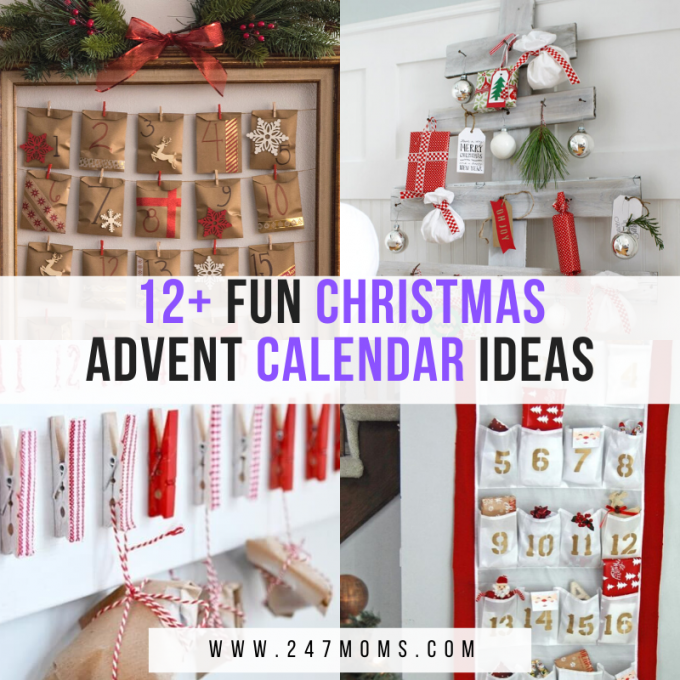 fun Christmas advent calendars