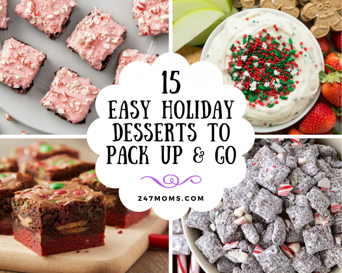 holiday desserts pack go