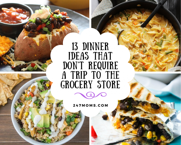 dinner ideas grocery store