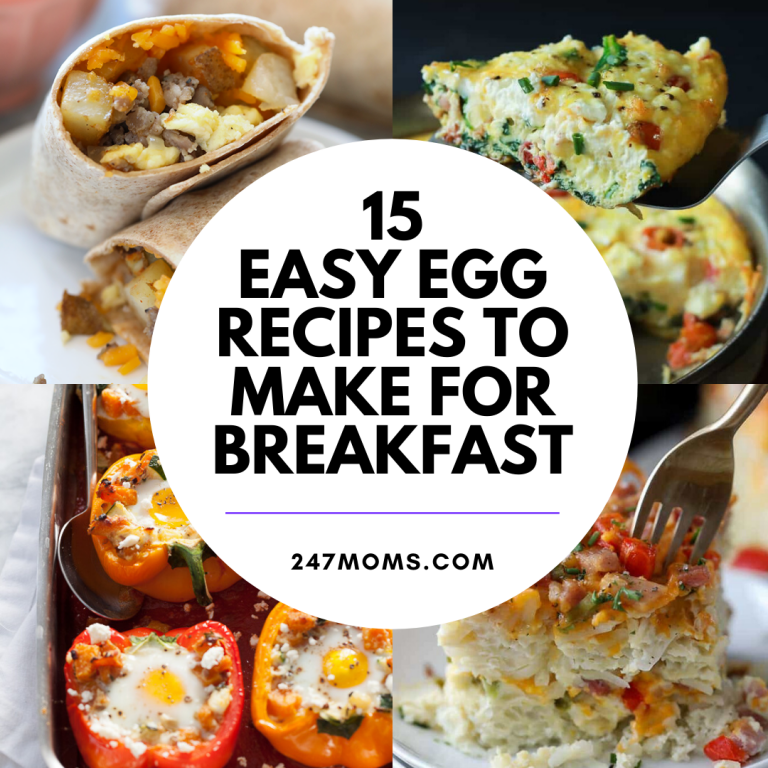 easy breakfast egg recipes