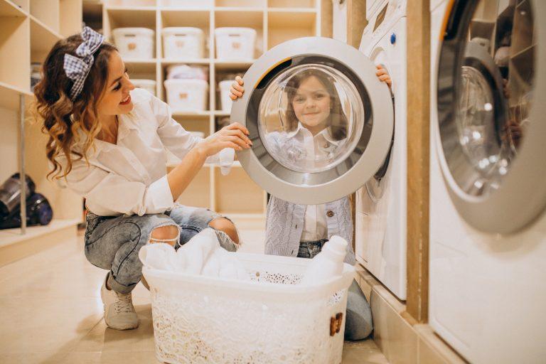 teach your child laundry