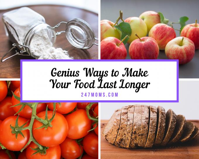 make food last longer