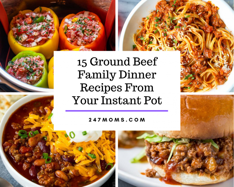 ground beef instant pot