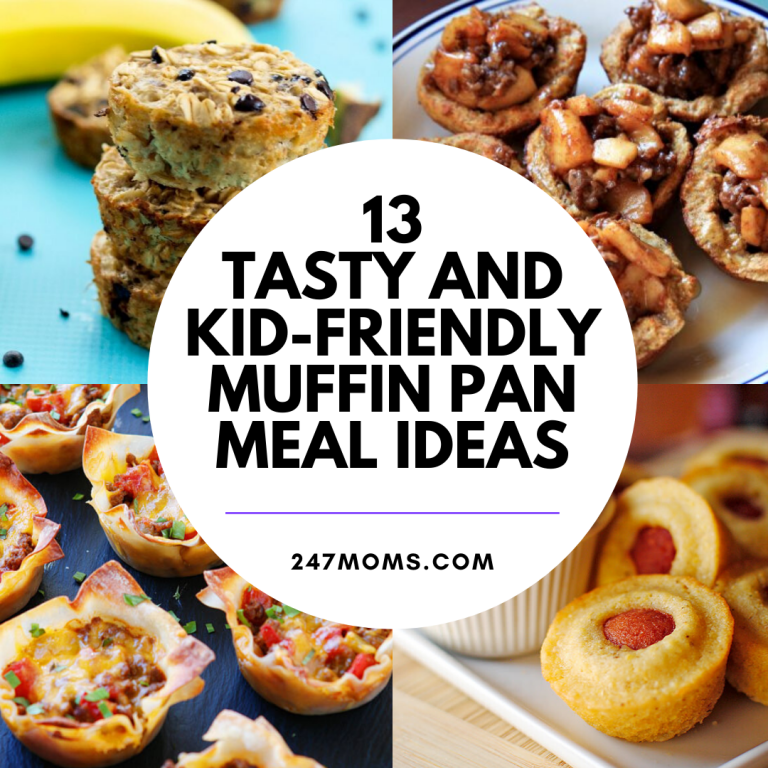 kid muffin pan meal