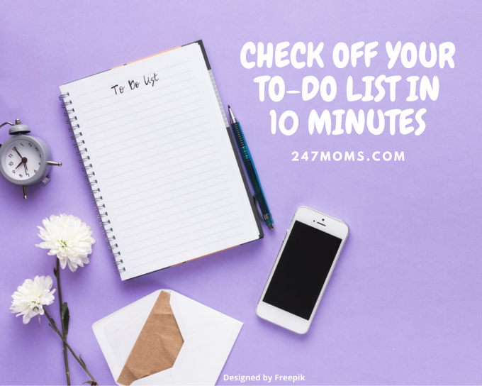 check off your to do-list