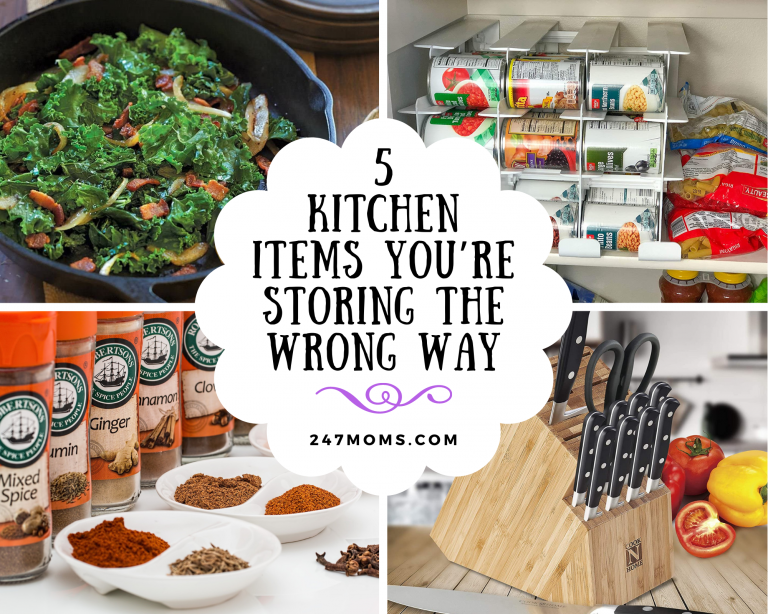 kitchen items you're storing